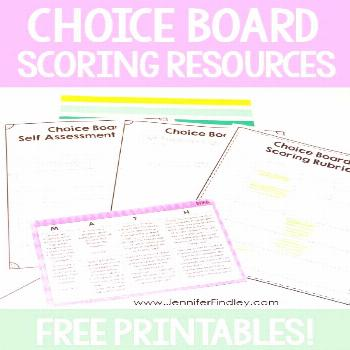 Do you use choice boards to differentiate and engage your students? If so, grab these FREE choice b