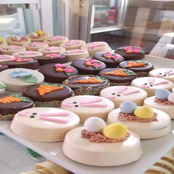 Easter Chocolate Covered Oreos  Easter Chocolate Covered Oreos Message anytime. Walk-ins welcome. O