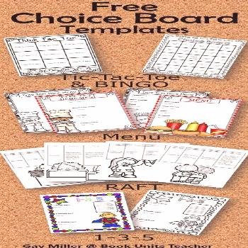 Free PowerPoint Choice Board Templates