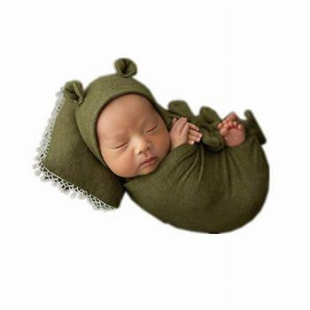 Newborn Infant Baby Boys Girls Photography Props Bow Wrap,