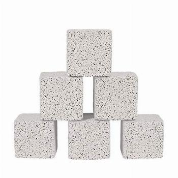 Pawliss 2 Inch Hamster Chew Toys,Teeth Grinding Lava Block