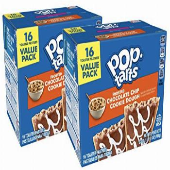 Pop-Tarts Breakfast Toaster Pastries, Frosted Chocolate Chip