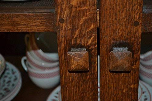 Crafters and Weavers Arts and Crafts Mission Solid Oak China