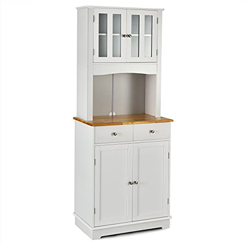 Giantex Buffet Sideboard, Kitchen Cabinet with Hutch, Dining