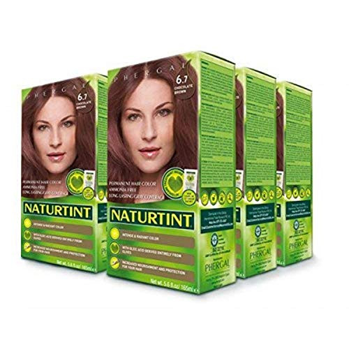 Naturtint Permanent Hair Color 6.7 Chocolate Brown (Pack of